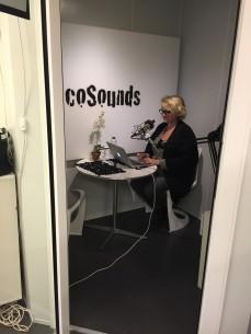 Selvbetjeningsstudie for podcastere